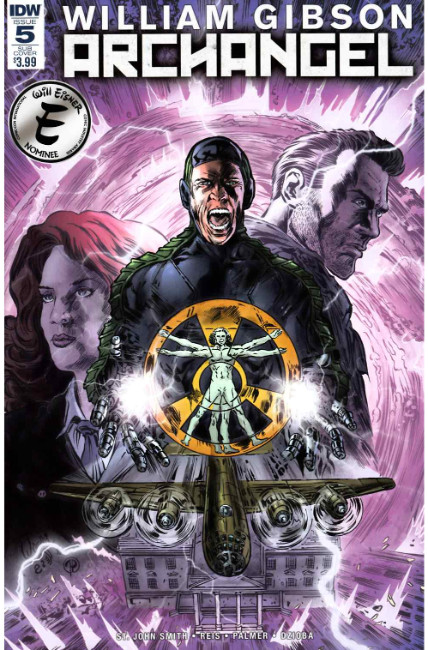 Archangel #5 Subscription Cover A [IDW Comic] THUMBNAIL