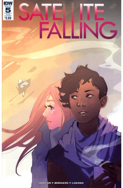 Satellite Falling #5 Subscription Cover [IDW Comic] THUMBNAIL