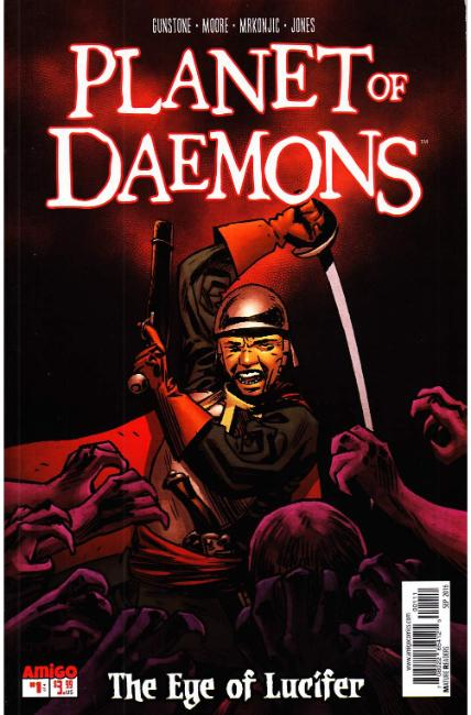 Planet of Daemons #1 [Amigo Comic] THUMBNAIL