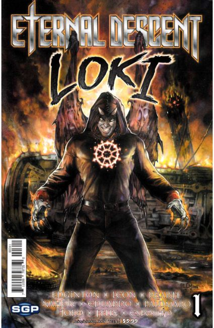 Eternal Descent Loki One Shot [Space Goat Comic] LARGE
