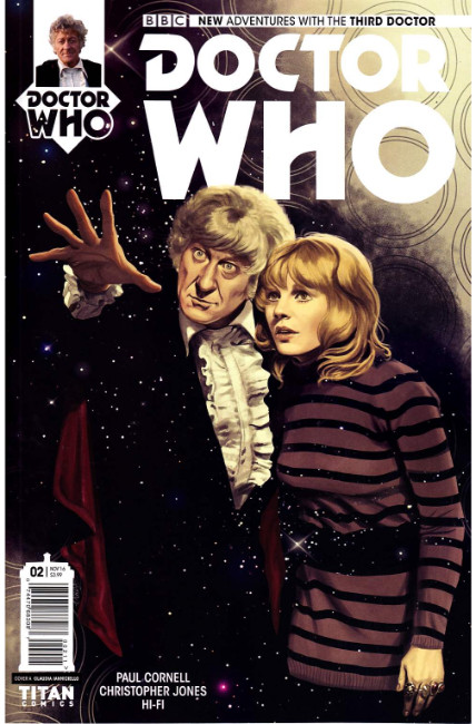 Doctor Who 3rd Doctor #2 Cover A [Titan Comic] THUMBNAIL
