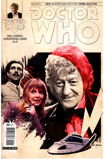 Doctor Who 3rd Doctor #2 Cover B [Titan Comic]