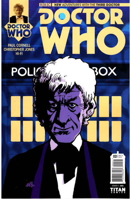 Doctor Who 3rd Doctor #2 Cover C [Titan Comic] THUMBNAIL