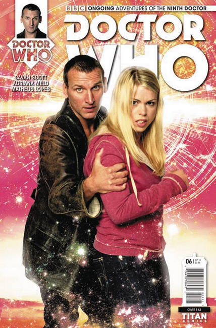 Doctor Who 9th Doctor #6 Cover B [Titan Comic] LARGE