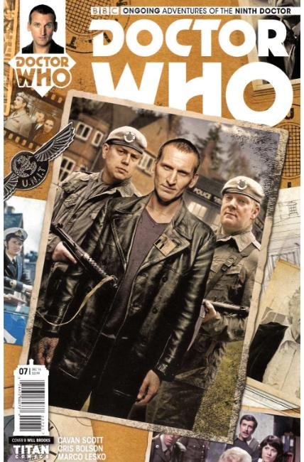 Doctor Who 9th Doctor #7 Cover B [Titan Comic] THUMBNAIL