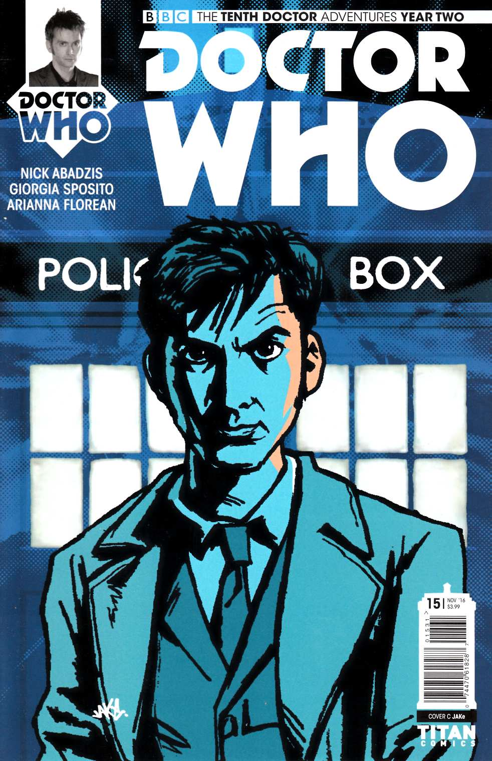 Doctor Who 10th Doctor Year Two #15 Cover C [Titan Comic] LARGE