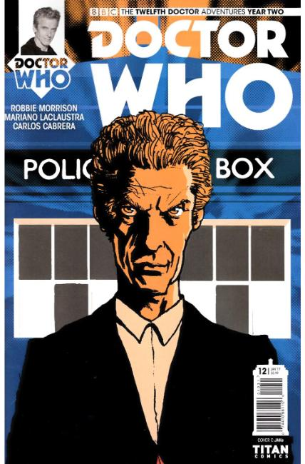 Doctor Who 12th Doctor Year Two #12 Cover C [Titan Comic] THUMBNAIL