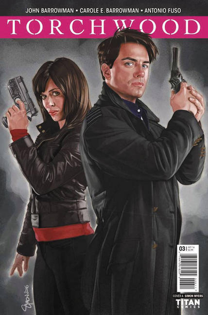 Torchwood #3 Cover A [Titan Comic]