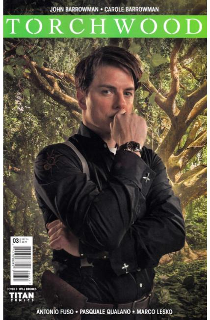 Torchwood #3 Cover B [Titan Comic] THUMBNAIL