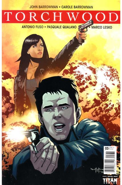 Torchwood #3 Cover C [Titan Comic] THUMBNAIL