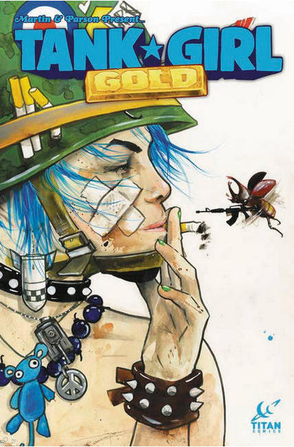 Tank Girl Gold #1 Cover D [Titan Comic] THUMBNAIL