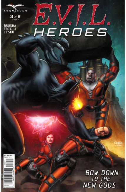 Evil Heroes #3 Cover A Very Fine (8.0) [Zenescope Comic] THUMBNAIL