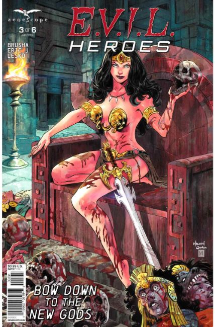 Evil Heroes #3 Cover C Near Mint Minus (9.2) [Zenescope Comic] THUMBNAIL