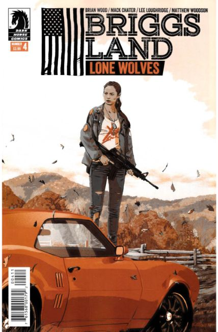 Briggs Land Lone Wolves #4 [Dark Horse Comic] THUMBNAIL