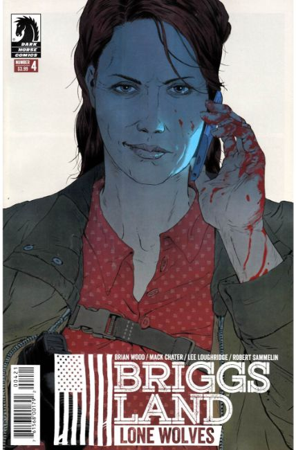 Briggs Land Lone Wolves #4 Sammelin Variant Cover [Dark Horse Comic] THUMBNAIL