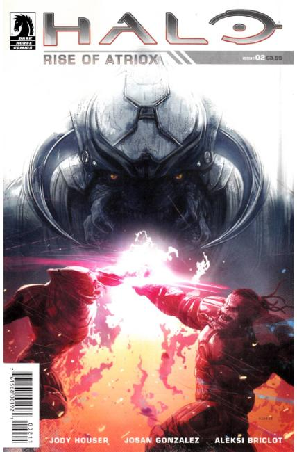 Halo Rise of Atriox #2 [Dark Horse Comic] LARGE