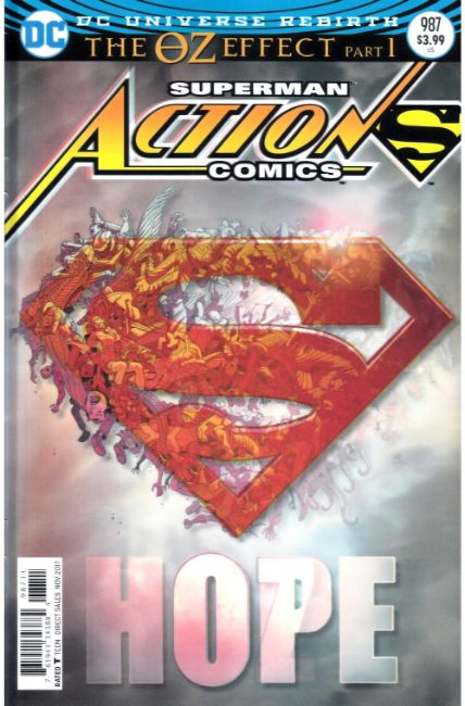 Action Comics #987 Lenticular Variant Cover Very Fine (8.0) [DC Comic] LARGE