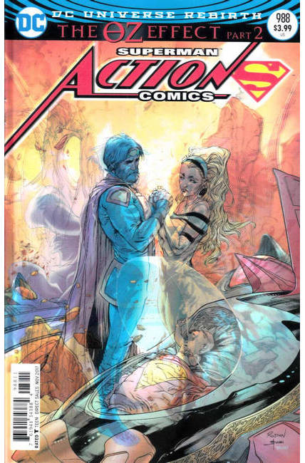 Action Comics #988 Lenticular Variant Cover Near Mint (9.4) [DC Comic] LARGE