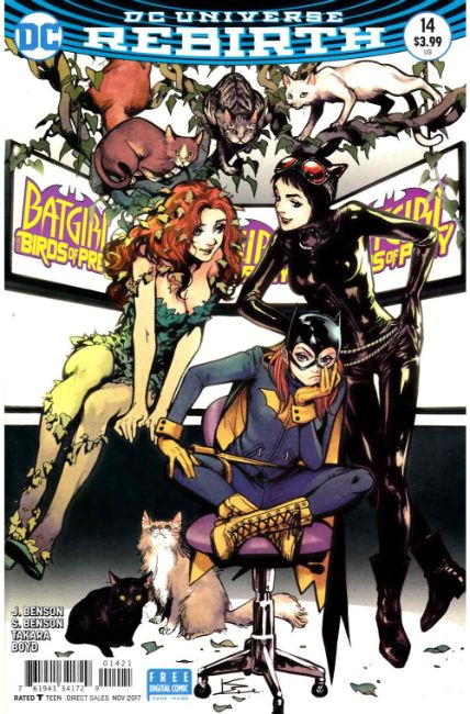 Batgirl And The Birds Of Prey 14 Shirahama Variant Cover Dc Comic Dreamlandcomics Com Online Store