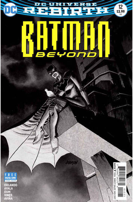 Batman Beyond #12 Johnson Variant Cover [DC Comic]_LARGE