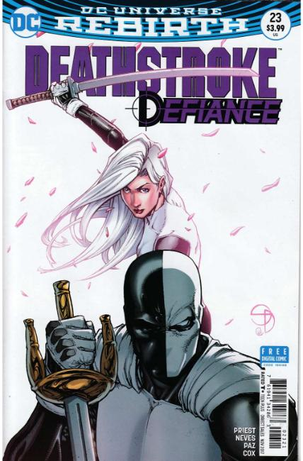 Deathstroke #23 Davis Variant Cover [DC Comic] THUMBNAIL