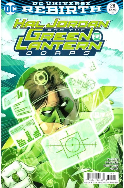 Hal Jordan and the Green Lantern Corps #28 Kitson Variant Cover [DC Comic] THUMBNAIL