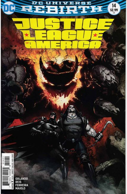 Justice League of America #14 Mahnke Variant Cover [DC Comic] THUMBNAIL