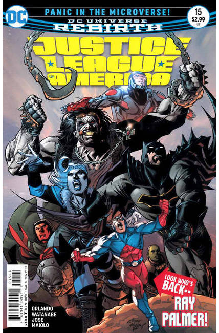 Justice League of America #15 [DC Comic] THUMBNAIL
