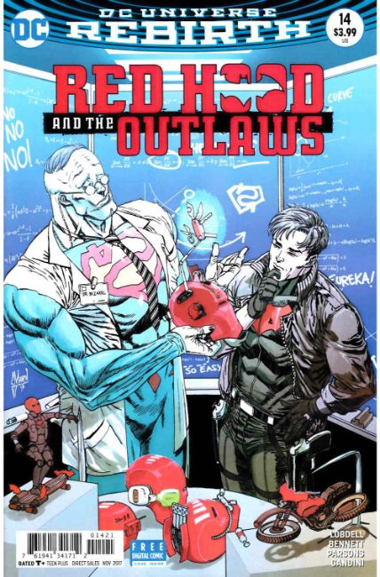 Red Hood and the Outlaws #14 March Variant Cover [DC Comic] THUMBNAIL