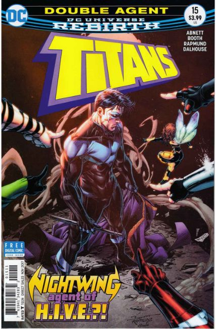 Titans #15 [DC Comic] LARGE