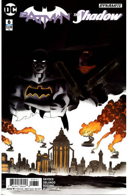 Batman The Shadow #6 Sale Variant Cover [DC Comic]