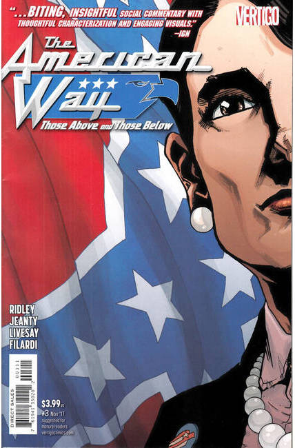 American Way Those Above and Below #3 [DC Comic] LARGE