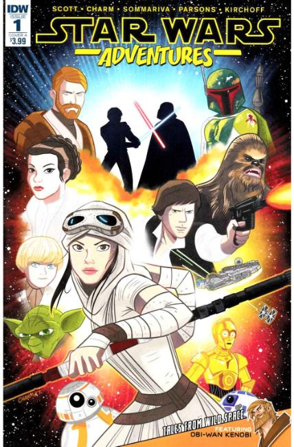 Star Wars Adventures #1 Cover A [IDW Comic] THUMBNAIL