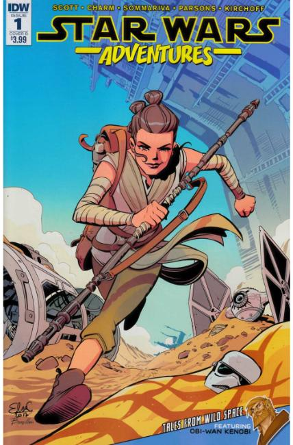 Star Wars Adventures #1 Cover B [IDW Comic] LARGE