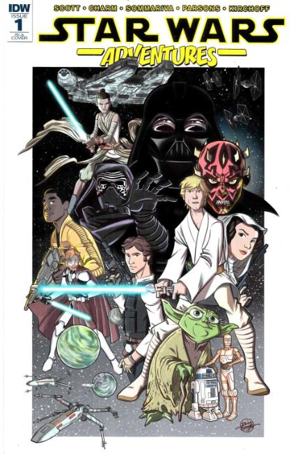 Star Wars Adventures #1 Cover RIA [IDW Comic]