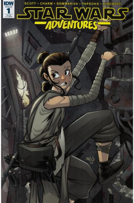 Star Wars Adventures #1 Cover RIB [IDW Comic] THUMBNAIL