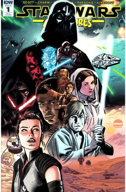 Star Wars Adventures #1 Cover RIC [IDW Comic]