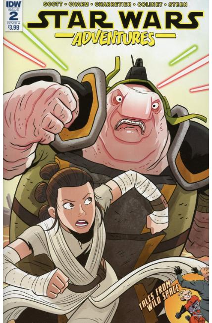 Star Wars Adventures #2 Cover A [IDW Comic] THUMBNAIL