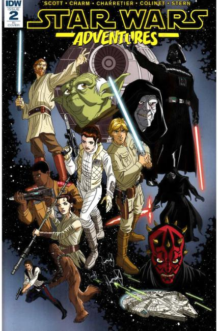 Star Wars Adventures #2 Cover RI [IDW Comic]