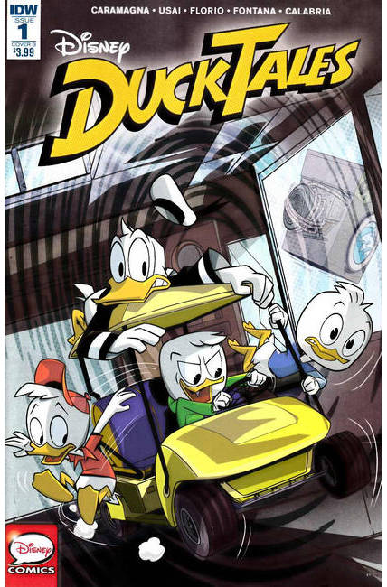Ducktales #1 Cover B [IDW Comic]