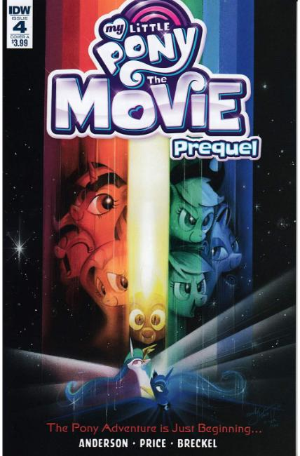 My Little Pony Movie Prequel #4 Cover A [IDW Comic]