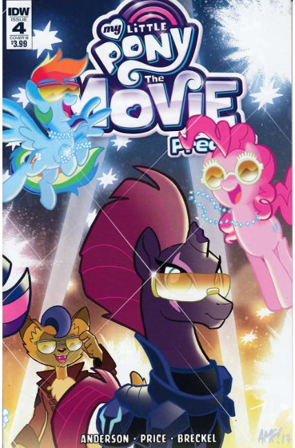 My Little Pony Movie Prequel #4 Cover B [IDW Comic]