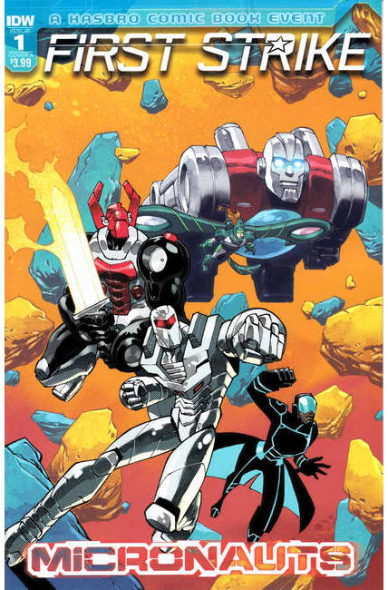Micronauts First Strike #1 Cover A [IDW Comic] THUMBNAIL