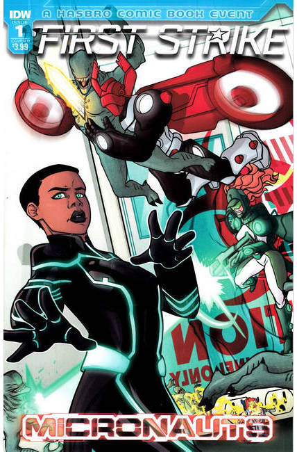 Micronauts First Strike #1 Cover B [IDW Comic] THUMBNAIL