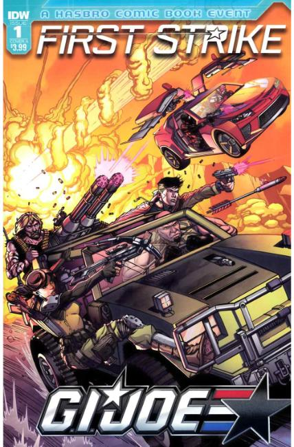 GI Joe First Strike #1 Cover A [IDW Comic] THUMBNAIL