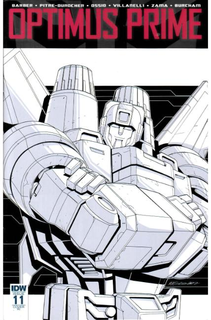 Optimus Prime #11 Cover RI [IDW Comic] LARGE