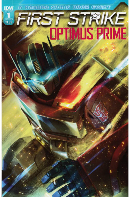 Optimus Prime First Strike #1 Cover A [IDW Comic] THUMBNAIL
