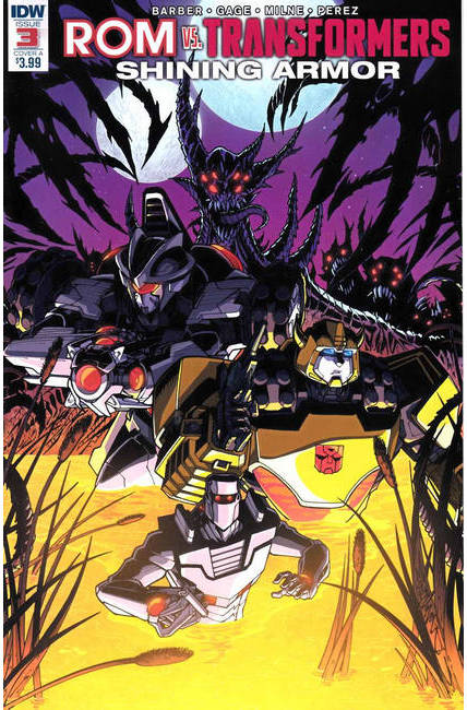 Rom vs Transformers Shining Armor #3 Cover A [IDW Comic] THUMBNAIL