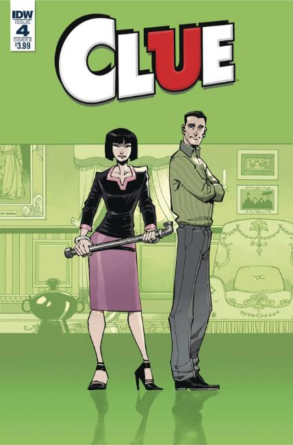 Clue #4 Cover B [IDW Comic] LARGE