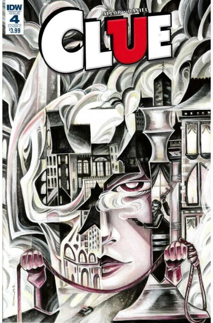 Clue #4 Cover C [IDW Comic]
